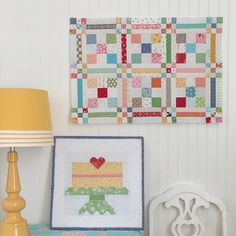 Farm Girl Vintage meets Scrappy Project Planner:) ...my Farm Girl Layer Cake block is on the design board and a section of my Checkerboard quilt is hanging on the wall...I love sewing with my scrappy stash and I can't wait to share exactly how I do it in my next publication Scrappy Project Planner due out in September....I'm sew excited...YaY!!! ❤️✂️ #beeinmybonnet #farmgirlvintage #scrappyprojectplanner #farmgirllayercakeblock #checkerboardquilt #beeinmybonnetdesignboards…
