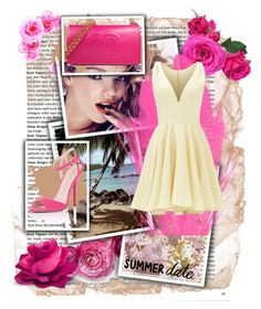 """""""SUMMER date"""" by saaraa-21 ❤ liked on Polyvore featuring Wildfox, Allison Parris, Little Mistress and Chanel"""