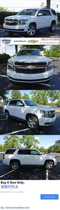 SUVs: Chevrolet: Tahoe 2Wd 4Dr Lt 2 Wd 4 Dr Lt New Suv Automatic Summit White BUY IT NOW ONLY: $58175.0 #priceabateSUVs OR #priceabate
