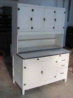 Antique Hoosier Kitchen Cabinet Showers Brothers HOOSIERS