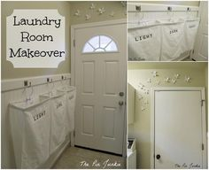 DIY Small Laundry Room Makeovers On a Budget 14