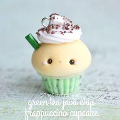 #kawaii #charms #polymer #clay #cute #frappuccino #cupcake