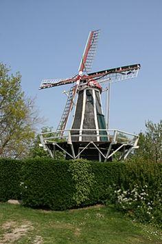 Flour mill Windlust, Brouwershaven, the Netherlands