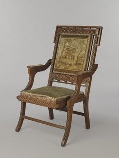 Chair In The Style Of The Classicism Birds Eye Maple Root Veneer Can Be Repeatedly Remolded. Other Antique Furniture Antiques