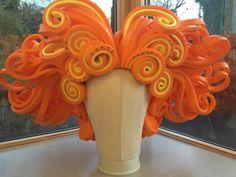 Fantastic Big, Orange, Foam Wig, Drag, Panto | eBay Fancy Dress, Dress Up, Foam Wigs, Costume Ideas, Cosplay, Orange, Inspired, Big, Creative