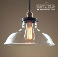 Westmenlights Large Clear Glass Hanging Cord Pendant UL Listed Copper Socket Globe Bar Ceiling Pendant Fixtures BELLA
