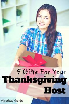 You don't have to cook the turkey this year, because you're heading to someone else's house for Thanksgiving. That may take the pressure off you, but for your host, it's just the beginning. Though your host told you just to bring yourself, you know it's impolite to show up empty handed, especially on a holiday, so grab a thoughtful gift to thank them for all their trouble this Thanksgiving. Why not bring wine, flowers, or sweets to express your gratitude? Read on as eBay shares more ideas.