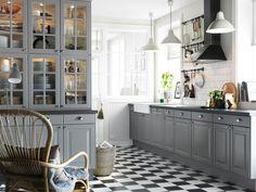 Bildergebnis Für Landhausküche Grau Neue Küche, Landhaus Möbel, Küchen  Ideen Landhaus, Schrank,