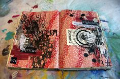 Donna downey,paper source and scrap stickers.   Now we're talking