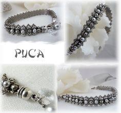 "Schéma ...Bracelet "" Ophélia"" von Les perles de Puca auf DaWanda.com"