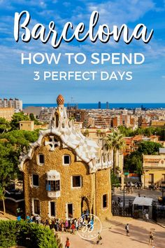 Find out how to spend 3 perfect days in Barcelona - the ultimate Barcelona itinerary. These are the best things to do in Barcelona for firs. Barcelona Travel Guide, Spain Travel Guide, Europe Travel Tips, Travel Advice, Travel Guides, Travel Destinations, Barcelona To Do, Barcelona Spain Map, Italy Travel