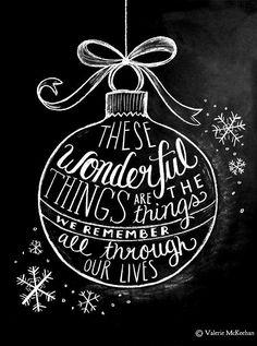 #Christmas #Chalkboard art #quotes ToniK ⊱CհαƖҜ ℒЇℕ℮⊰
