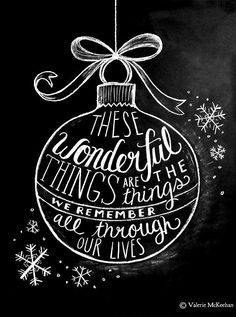 #Christmas #Chalkboard art #quotes ToniK ⊱CհαƖҜ ℒЇℕ℮⊰