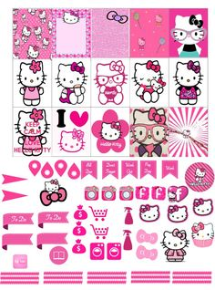 Hi planner friends been a busy few weeks here and I'm so sorry I haven't been posting my weekly printables but I hope this super cute hello kitty sheet will make up for it &nbsp…