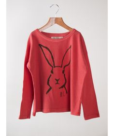 Bobo Choses T-shirt LS Hare red