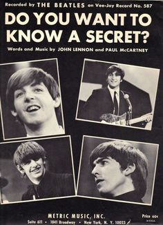 S. J. Paul McCartney♥♥John W. O. Lennon♥♥Richard L. Starkey♥♥George H. Harrison