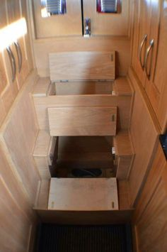 Cool storage/steps