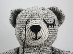 How To Add Faces To Your Amigurumi Part 3: Sleepy Face
