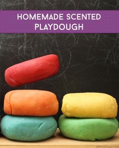 Homemade Scented Playdough using Jello! #pressnsealhacks #Pmedia #ad