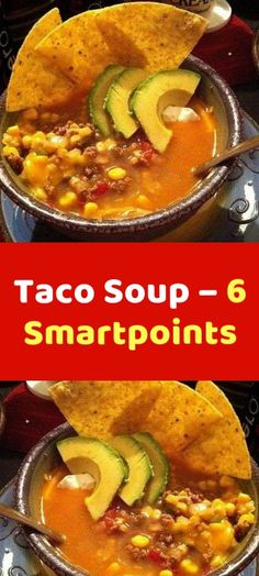 Taco Soup – 6 Smartpoints Ingredients 1 lb ground beef or ground turkey breast 1 ounce) can stewed tomatoes (any flavor) 1 ounce) can stewed tomatoes (Mexican flavor) 1 large onion (chopped) 1 ounce) package taco seasoning Cream Of Celery Soup, Onion Soup Mix, Cream Of Chicken Soup, Cube Steak Recipes, Chicken Recipes, Dinner Recipes Easy Quick, Easy Meals, Ww Recipes, Crockpot Recipes