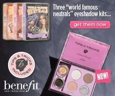 Benefit Cosmetics' World Famous Neutrals
