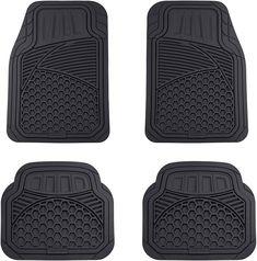 Fashion Pineapple Car /& Auto Floor Mats Women Men 4-Piece Full Set All Weather Universal Front /& Rear Automotive Floor Mat Fit for SUV Sedan Truck Van
