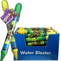 TMNT Ninja Turtle Water Blaster with hangtag x 2 (1 green and 1 yellow), http://www.amazon.com/dp/B00CDH838Y/ref=cm_sw_r_pi_awdm_7zNktb0GB983S