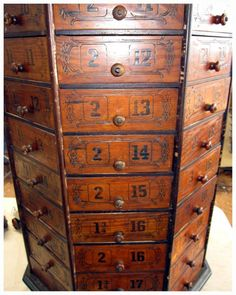Library Card, Libraries, Drawers, Cabinet Drawers, Library Cards, Drawer,  Bookcases, Bookstores, Crates
