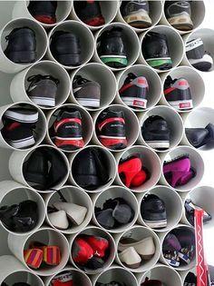 6 maneras geniales de organizar zapatos | Dormitorio - Decora Ilumina