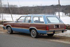 1978 Ford Fairmont Squire Wagon