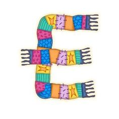 Letter E, Friendship Bracelets, Alphabet, Things To Come, Personalized Items, Winter, Nature, Letters, Clothing Apparel
