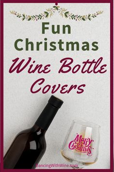 Wine bottle covers can help make any wine bottle festive! Check out this list to turn any bottle into eye-catching Christmas decor or make the perfect gift. Fun Christmas Wine Bottle Covers - Dancing With Wine Christmas Wine Bottles, Christmas Ad, Christmas Decor, Christmas Ideas, Gifts For Wine Lovers, Wine Gifts, Wine Bottle Covers, Wine Wall, Wine Decor