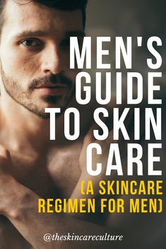 With so many questions surrounding men's skincare - and so many options to choose from - it rarely comes as a surprise that men tend to neglect to look after their skin. Having a good skincare… Skin Care Routine For 20s, Skin Routine, Skincare Routine, Beauty Routines, Skin Care Regimen, Skin Care Tips, Beauty Regimen, Beauty Tips, Organic Skin Care