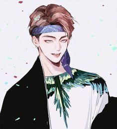 Bts not today, bts taehyung, bts bangtan boy, taehyung fanart, bts dr Taehyung Fanart, Bts Taehyung, Bts Anime, Anime Guys, Bts Not Today, Kpop Drawings, Fanarts Anime, Fan Art, Bts Chibi