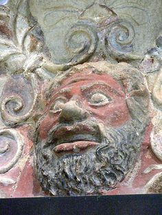 Etruscan Temple frieze Terracotta 5th century BCE