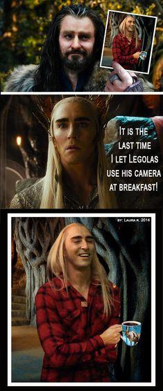So whether tomorrow is Thorin Thursday or Thranduil Thursday, i still love them both.