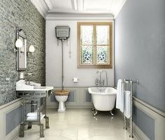 Victorian bathroom (I love Victorian style...)