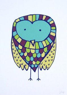 owl by Jen Peters
