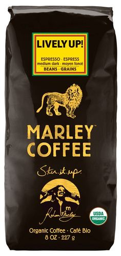 Marley Coffee: Lively Up! Espresso Helbønner