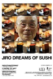 Jiro Dreams of Sushi (2011) Poster  The story of passion, persistence and surprisingly not so much about food itself.