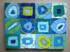 Wall art mosiacs by Felicity Ball at Just Mosiacs.