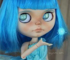 Everly OOAK Custom Art Blythe Doll by Rainfable by Rainfable