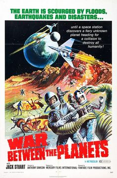 War between the planets aka War of the planets (1966) Sci-fi/Aliens
