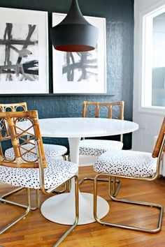 Shannon Claire: DIY Upholstered Craigslist Chairs