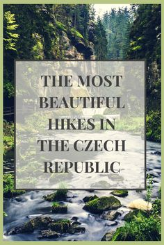 Hiking in the Czech Republic: The Bohemian Switzerland national park has some of the most beautiful and breathtaking scenery in the entire country. Plus, it's only a few hours from Prague! Join us for a memorable hiking trip in the Czech Republic. Click h