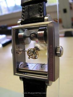 Thomas Prescher's Double Axis Tourbillon