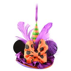 Limited Edition Witch Hat Ear Hat Ornament. I actually want this as a hat!