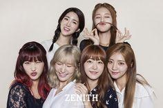 LABOUM for ZENITH - Yulhee + ZN + Soyeon + Yujeong + Solbin + Haein