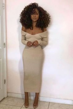 Classy Outfits, Chic Outfits, Dress Outfits, Winter Fashion Outfits, Fall Outfits, Autumn Fashion, Black Women Fashion, Look Fashion, 90s Fashion