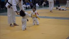 Two Judo Kids Fight It Out with Lethal Cute
